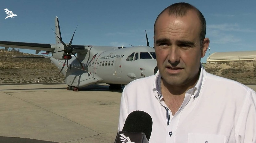 """IF IT WASN'T FOR THE AIR FORCE THERE WOULD BE NO OTHER WAY TO BE EVACUATED FROM PORTO SANTO"" SAYS ONE INHABITANT"