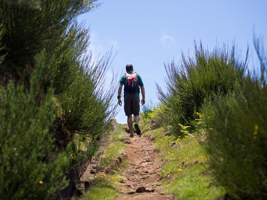 Cascalho Levada da Bica Cana walk