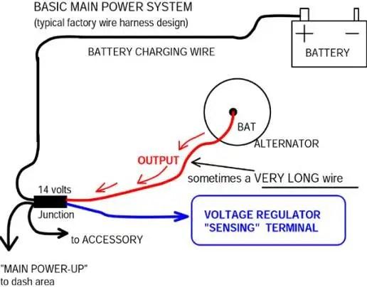 Delco One Wire Alternator Wiring Diagram – Gm 1 Wire Alternator Wiring Diagram