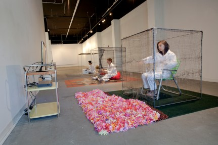 Installation view front
