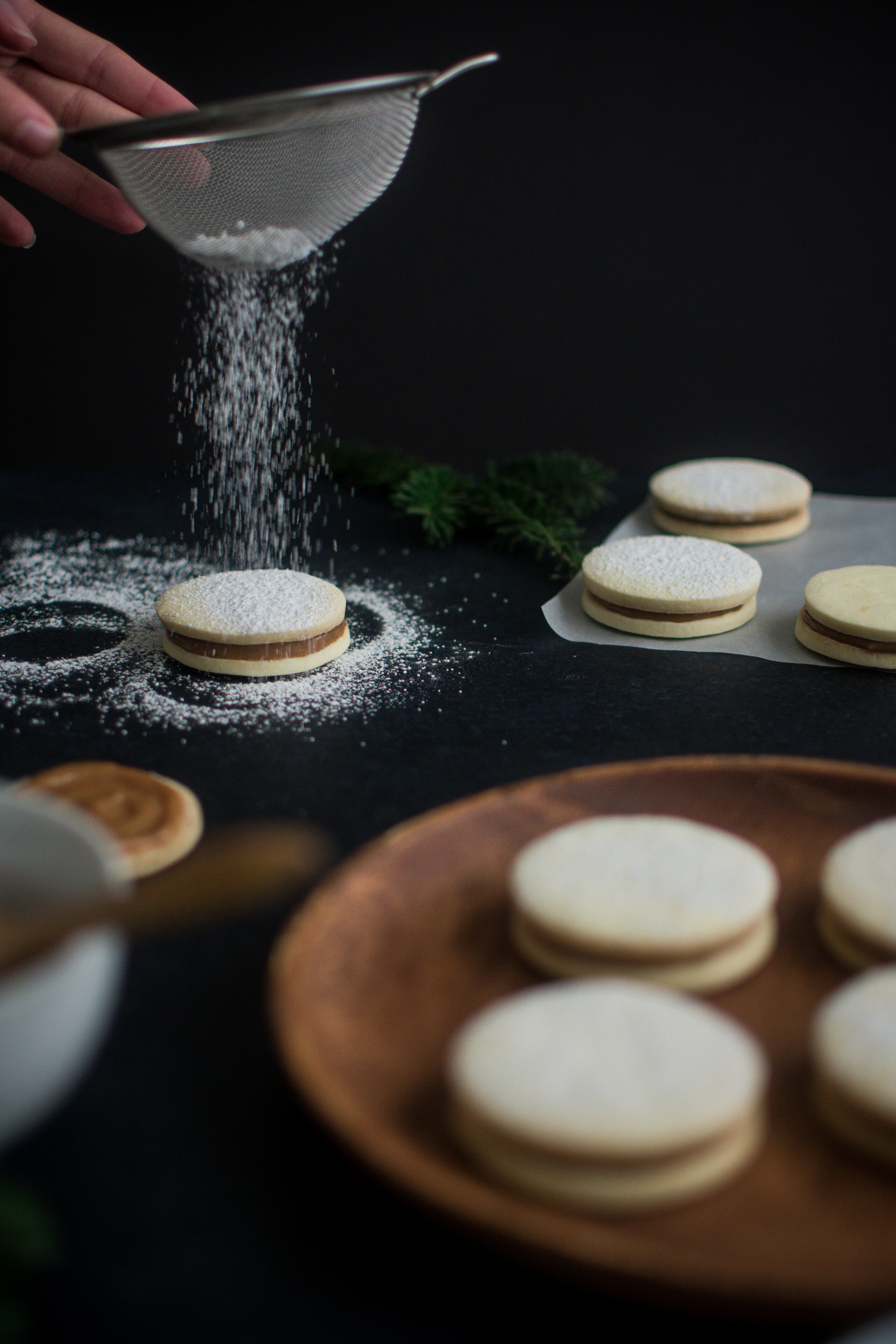 Alfajores With Homemade Dulce De Leche Madeleine Kitchen