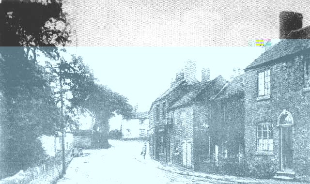 Bridge Inn on the Right and The Greyhound Inn in the Background