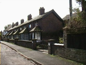The Old Alms houses situated on Station Road.