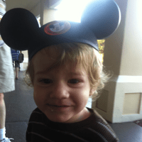 My son, age 2