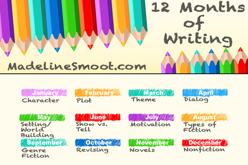 12 Months of Writing