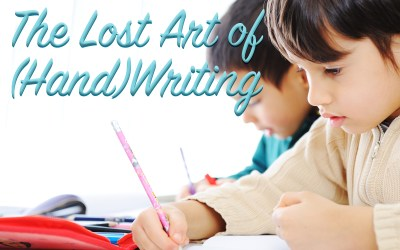 The Lost Art of (Hand)writing