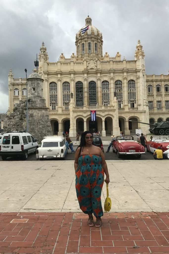 Hands on Drums, jumpsuit, Cuba, travel, Havana