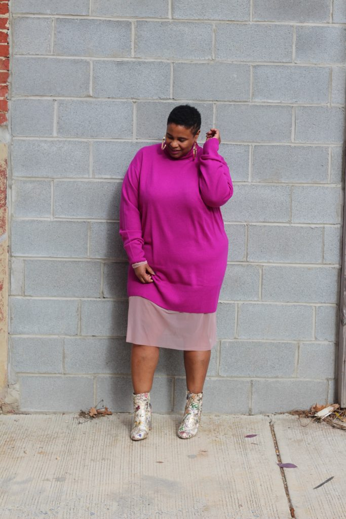 Universal Standard, ASOS, layer up, plus size blogger
