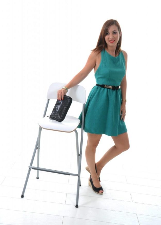 Ma robe verte - chaise