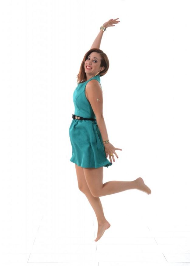 Ma robe verte - saut