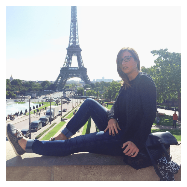 Look casual -tour eiffel face