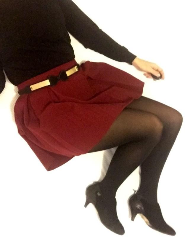Gambettes de novembre - noir