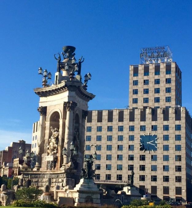 Barcelone - hôtel jour