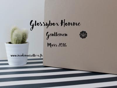 Glossybox Homme presentation_mademoiselle-e