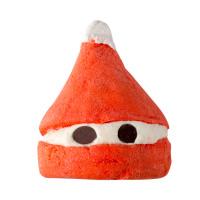 Soldes Lush pain moussant Peeping Santa mademoiselle E