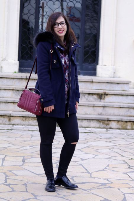 duffle coat look 3 mademoiselle E