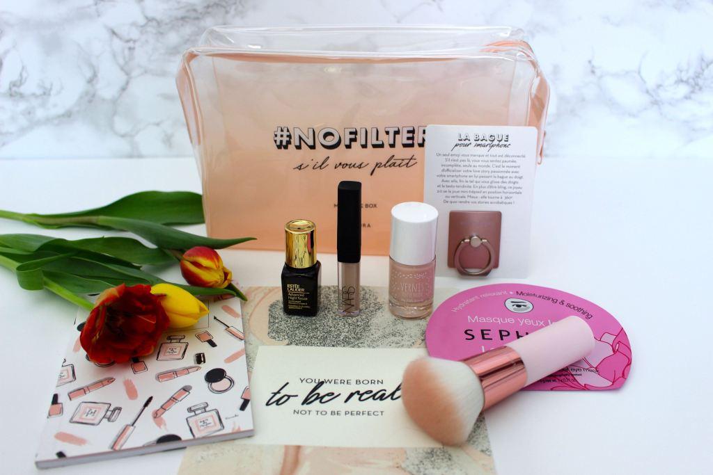 My Little box mars contenu mademoiselle-e