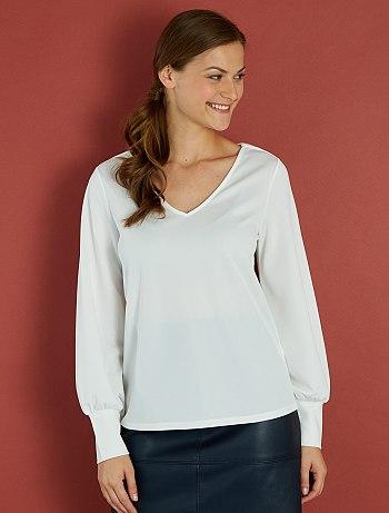 blouse-crepee-noeud-au-dos-blanc-femme