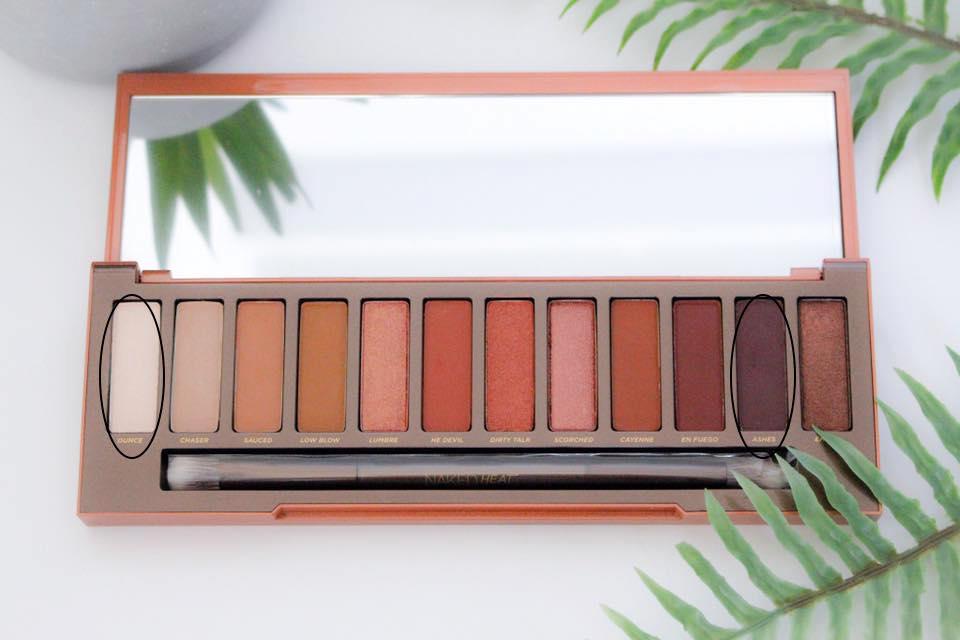 Naked Heat palette 4 mademoiselle-e