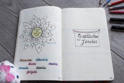 bullet journal bujo mood gratitude mademoiselle e