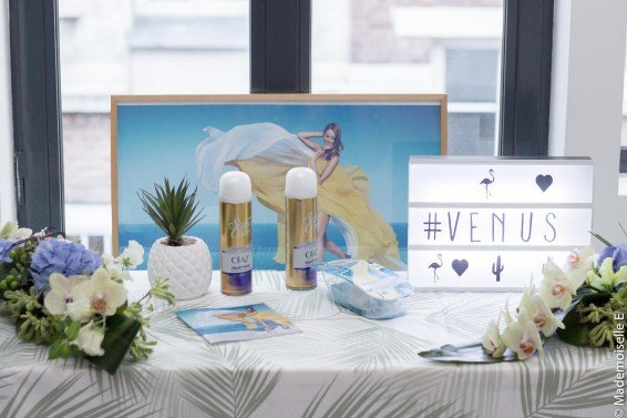 Poulette Sun Party produits Venus 2 mademoiselle-e
