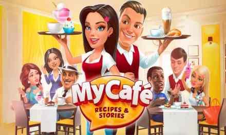 Recherche et proposition de villes dans MyCafé Recipes & Stories
