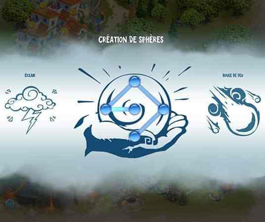 Créer des sphères avec le Mana