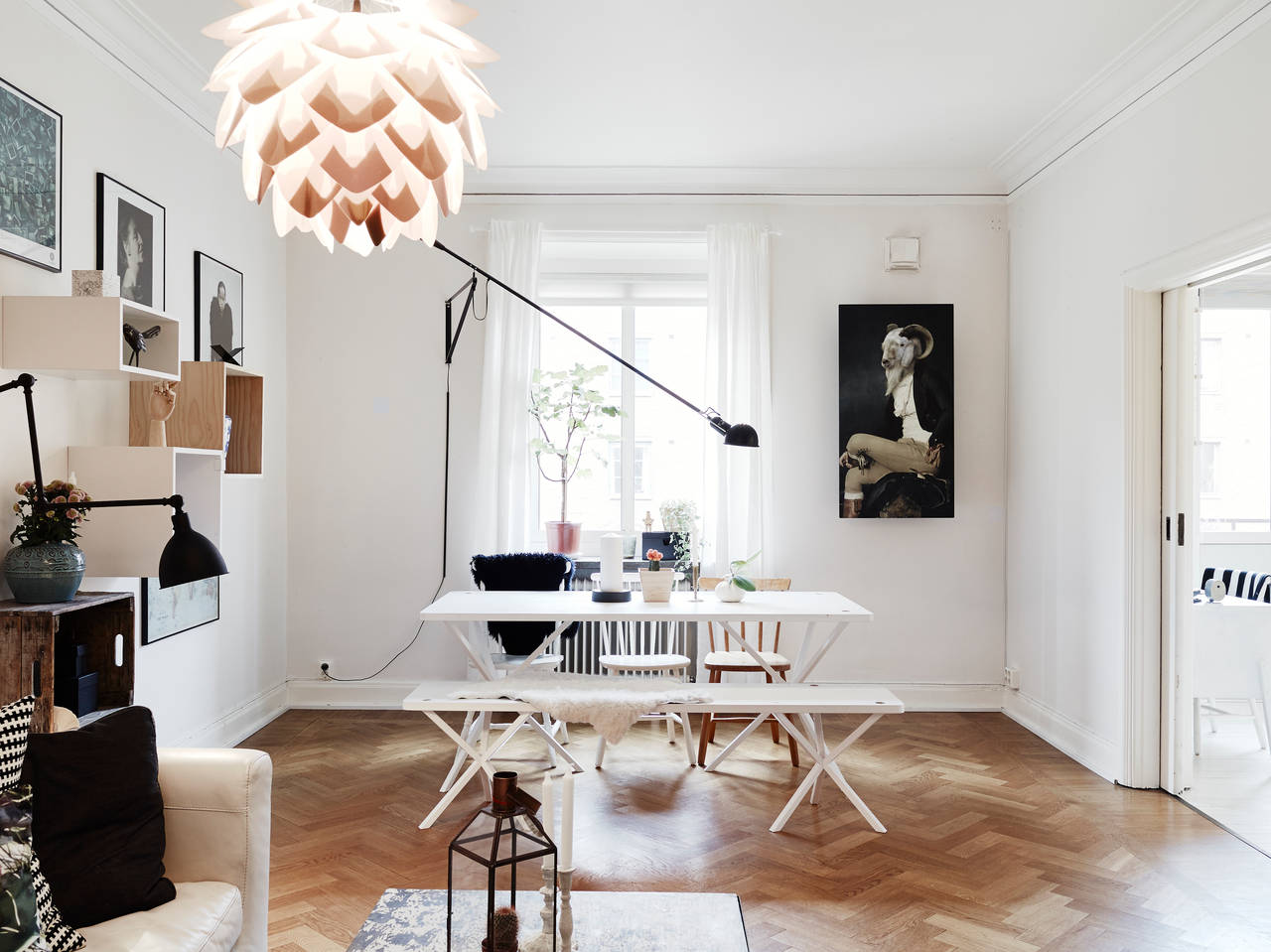 HOME TOUR UN ORIGINAL DANS LE STYLE SCANDINAVE