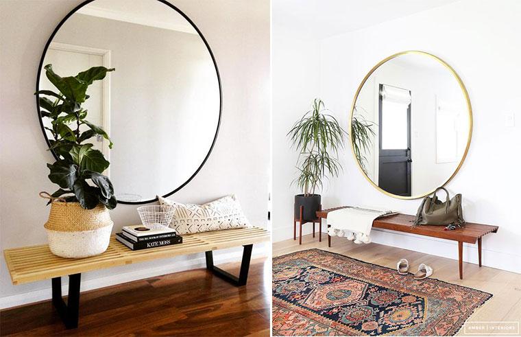 Deco Entree Miroir