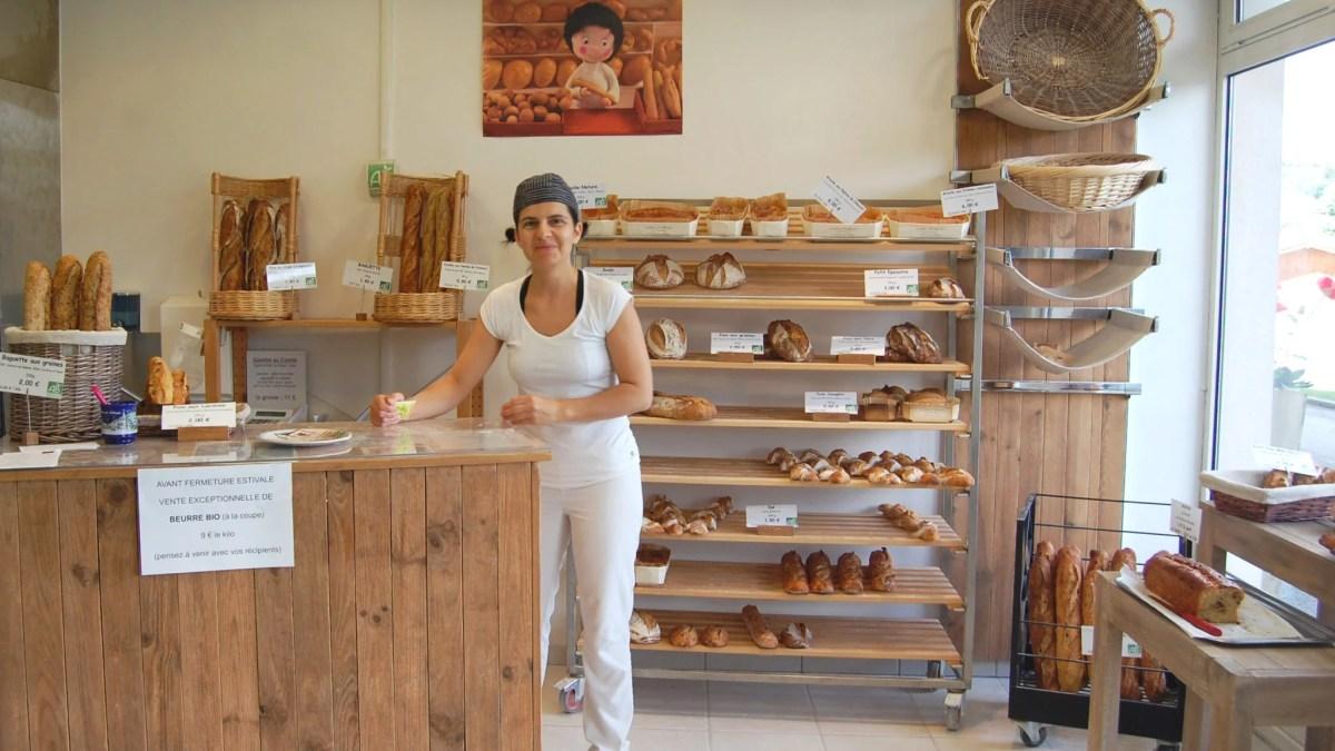 Portrait de Christina Colombier – Boulangerie bio «Goûter d'ailleurs»