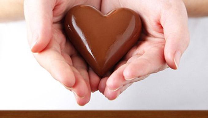 Enveloppement divin chocolat