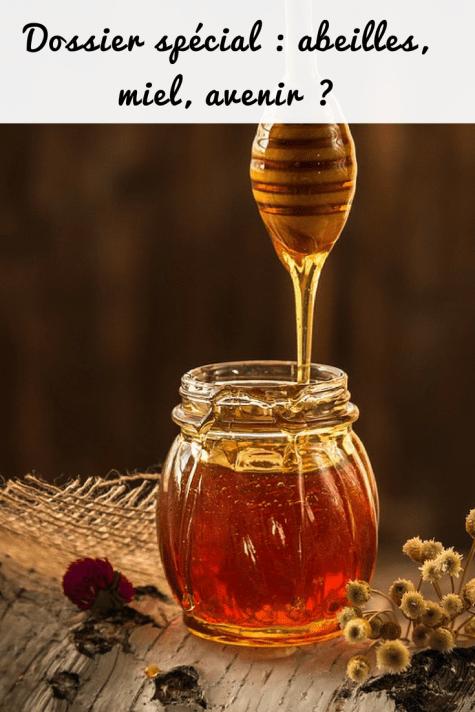 abeilles, miel, cire, avenir