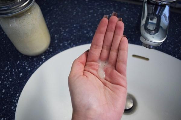 Savon liquide main maison