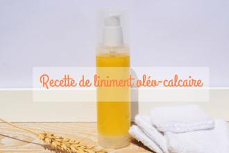 recette de liniment oléo-calcaire