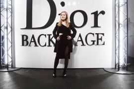 look dior backstage pfw