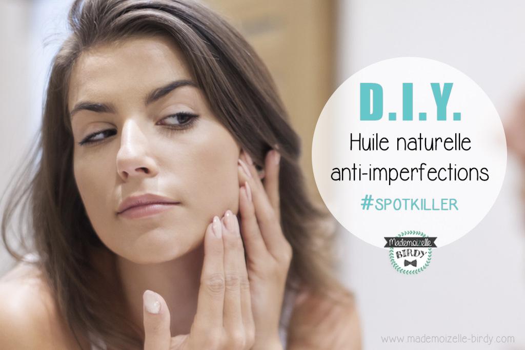 DIY ☠ Recette lotion anti-imperfections à huile essentielle d arbre à thé  and co  bouton cdbfb77b62a
