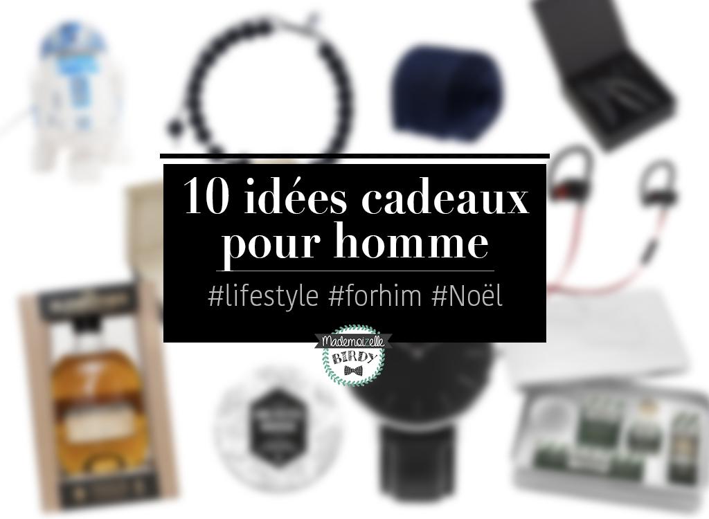 10 idées cadeaux originales pour homme à glisser sous le sapin