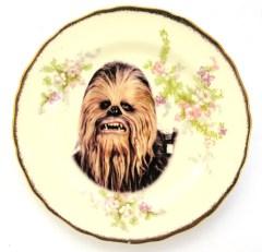 assiette chewbacca star wars