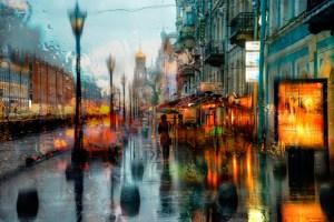 pluie ville