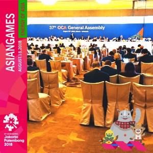 PENGADAAN SEWA PERALATAN DAN PERLENGKAPAN MEETING OCA EXECUTIVE BOARD MEETING DALAM RANGKA PENYELENGGARAAN ASIAN GAMES XVII TAHUN 2018