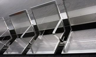 Sitzplätze, Edelstahl