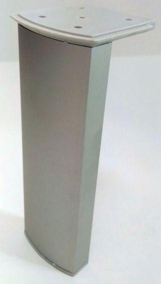 Pata de cocina Aluminio Curvada