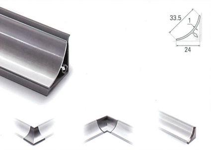 Copete de Aluminio Invertido