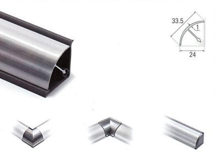 Copete de Aluminio Redondo