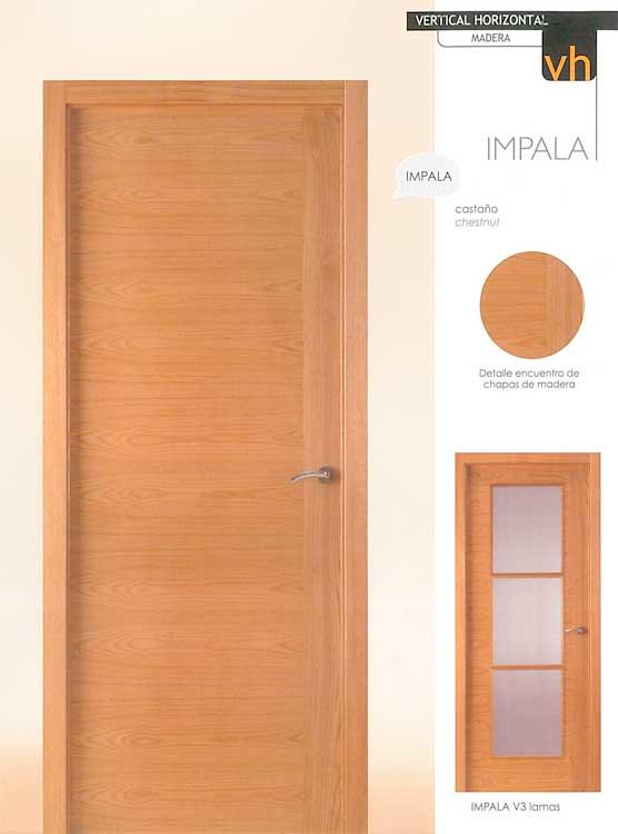 Puerta Modelo Impala para viviendas