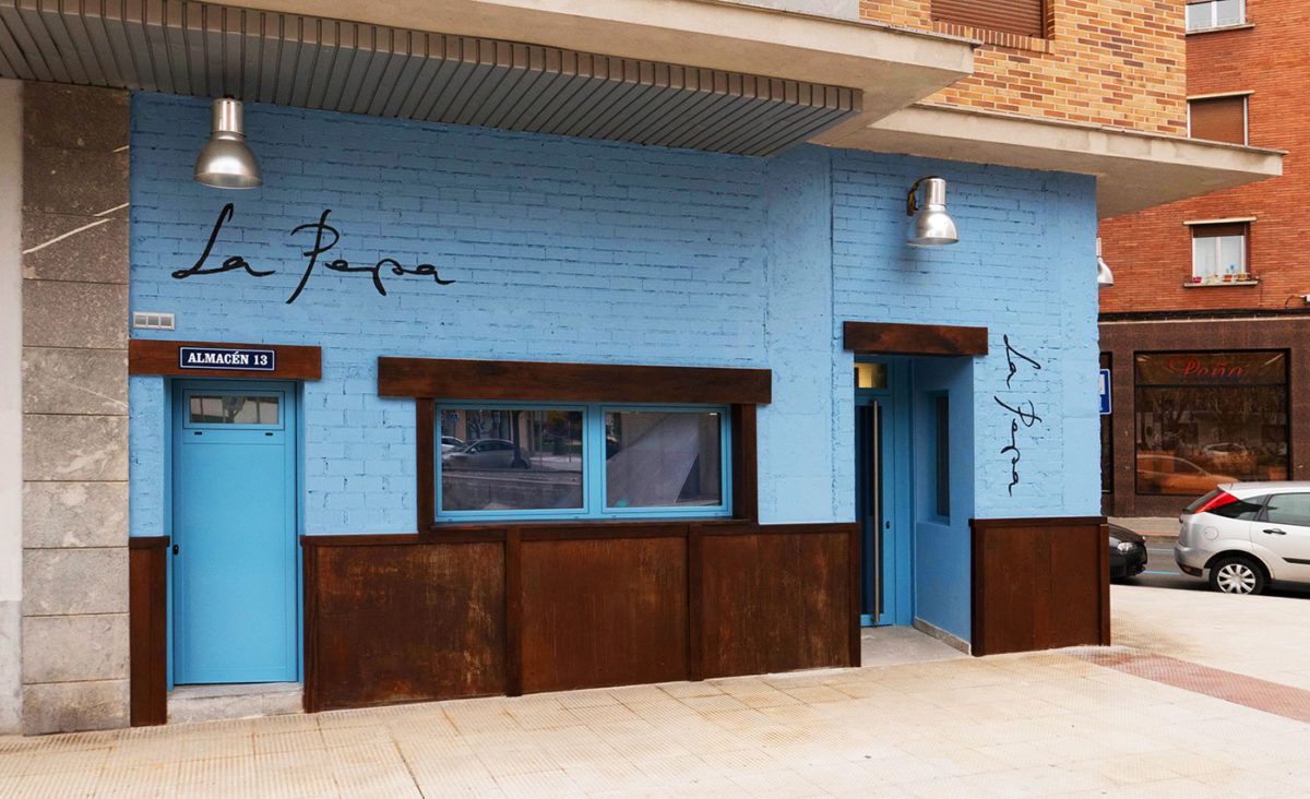 Fachada bar La Pepa