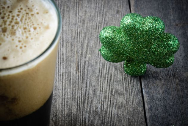Alcoholic Cold Brew Coffee for St. Patrick's Day