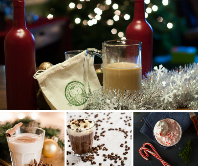 Holiday Drinks and Mixes with Cold Brew Coffee Christmas
