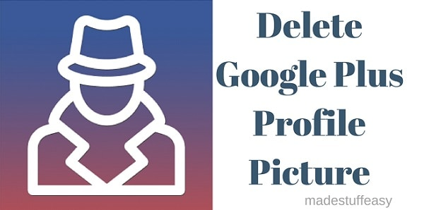delete google plus profile picture