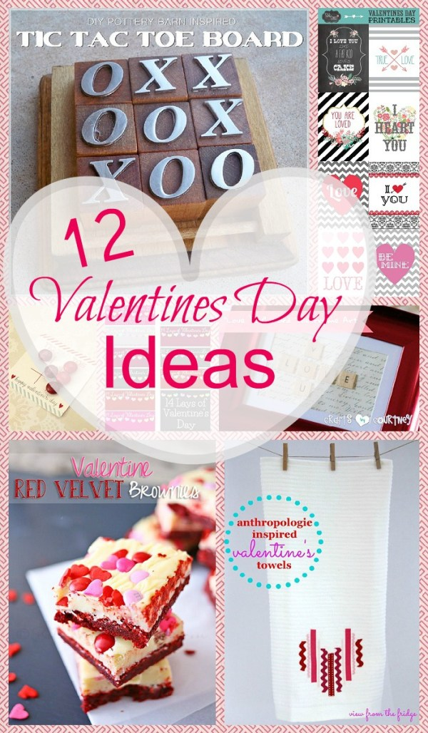 12 Valentines Day Ideas - Made To Be A Momma